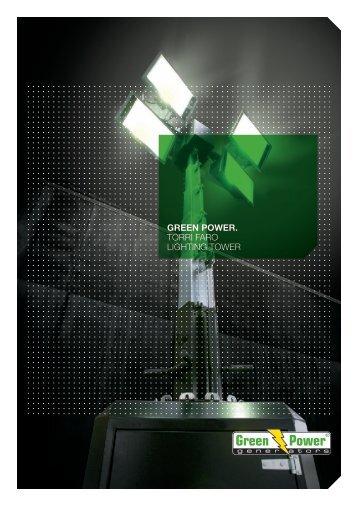 green power. torri faro lighting tower - Green Power Systems
