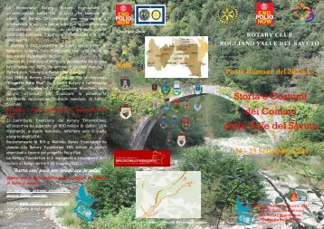 Storia e Costumi dei Comuni della Valle del Savuto