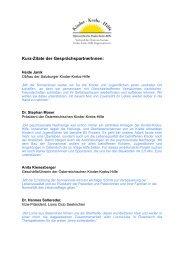 Kurzzitate Sonneninsel.pages - Österreichische Kinder-Krebs-Hilfe