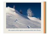 Alla scoperta della regione autonoma della Valle d'Aosta