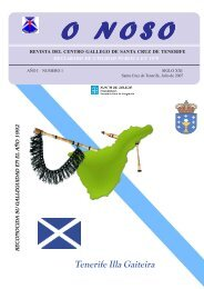 Revista 'O Noso' - Secretaría Xeral da Emigración - Xunta de Galicia