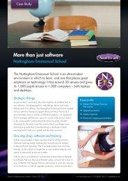 Nottingham Emmanuel School - Case Study.indd - Softcat