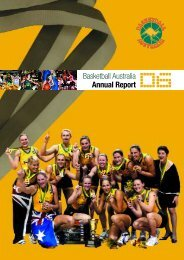 Basketball Australia Annual Report 2006