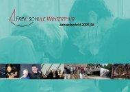 Jahresbericht Schuljahr 2005/2006 - Freie Schule Winterthur