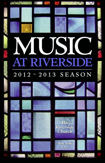 Download Full Brochure for the 2012-2013 Season (1 MB, PDF)