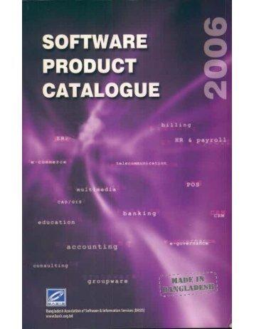 Software Product Catelogue-2006 - basis