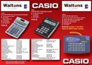 7392 CASIO-WALTONS JHB 2010.qxd