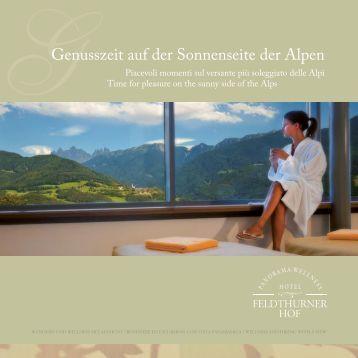 unseren Katalog runterladen - Hotel Feldthurnerhof