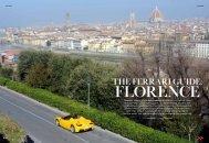 The Ferrari Guide: Florence - Associazione Partners Palazzo Strozzi