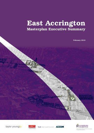 Item 13 - East Accrington Masterplan - Hyndburn Borough Council