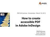 How to create accessible PDF in Adobe InDesign
