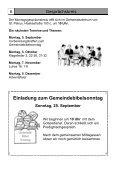 Gemeindebrief für September bis November 2011 - St. Petrus ... - Page 6