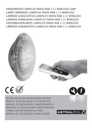 underwater lumiplus par56 rgb 1.11 wireless lamp ... - VitaPiscine