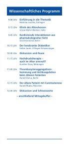 Esslinger Arteriosklerose 2010 - Klinikum Esslingen - Seite 3