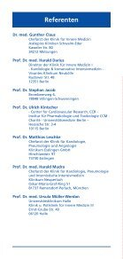 Esslinger Arteriosklerose 2010 - Klinikum Esslingen - Seite 4