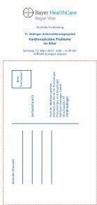 Esslinger Arteriosklerose 2010 - Klinikum Esslingen - Seite 6