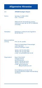Esslinger Arteriosklerose 2010 - Klinikum Esslingen - Seite 7