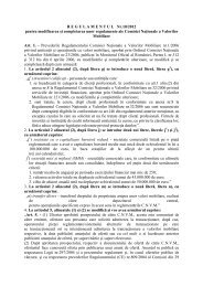 R E G U L A M E N T U L   Nr.10/2012 pentru modificarea și ... - CNVM