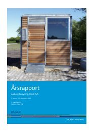 Årsrapport 2012 - Aalborg Forsyning