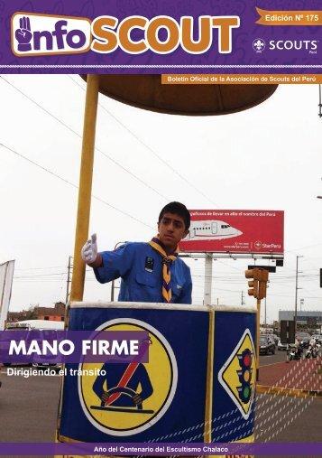 MANO FIRME - Scouts del Perú