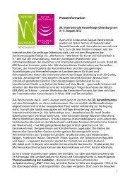 Presseinformation 2012 - Werkschule