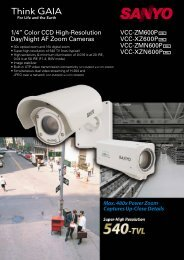 """1/4"""" Color CCD High-Resolution Day/Night AF Zoom Cameras VCC ..."""