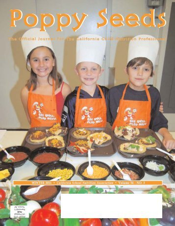 WINTER 2011.qxp - California School Nutrition Association