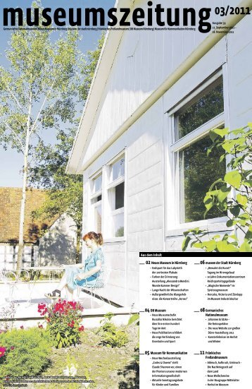 Museumszeitung, Ausgabe 39 vom 27. September 2011