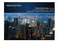 Dheeraj Bhardwaj - Future Infrastructure Forum