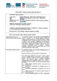 Odůvodnění veřejné zakázky dle §156 zákona - Úřad vlády České ...