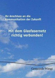 Info-Broschüre [PDF, 360 KB] - Gemeinde Wängi