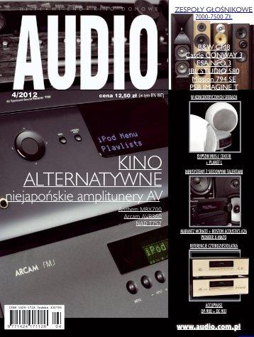 Audio, kwiecień 2012 - UlubionyKiosk