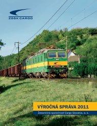VÝROČNÁ SPRÁVA 2011 - ZSSK Cargo