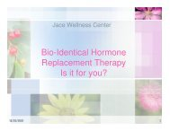 Bio-Identical Hormone Replacement Therapy Is It For You?
