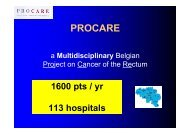 presentation - Belgian Cancer Registry