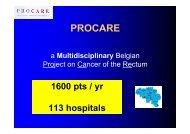 presentation - Belgian Cancer Registry