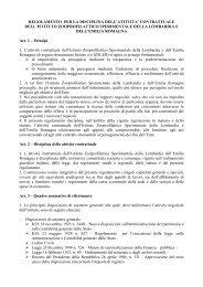 regolamento per la disciplina dell'attivita' contrattuale dell'istituto ...
