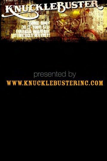 The Metal Turner's Handybook - Knucklebuster
