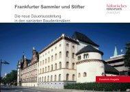 Frankfurter Sammler und Stifter - Historisches Museum Frankfurt ...