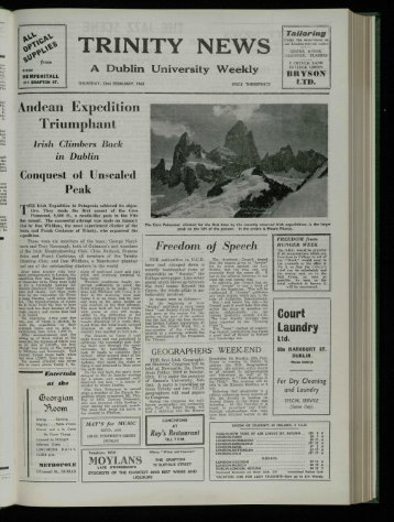 Weekly - Trinity News Archive