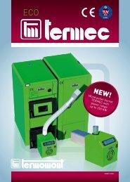 Wood pellet burner TERMEC with power range up to 350 KW
