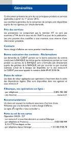 Prix de nos produits et services aux Entreprises - CIC - Page 2