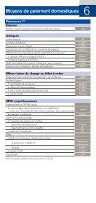 Prix de nos produits et services aux Entreprises - CIC - Page 7