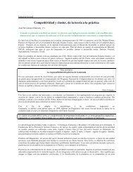 Competitividad y cluster, de la teoría - Gremial Forestal de Guatemala