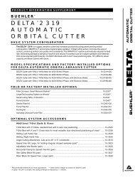 delta™ 2319 automatic orbital cutter