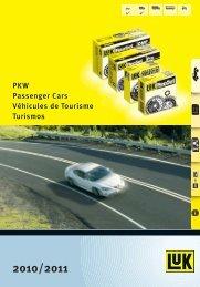 PKW Passenger Cars Véhicules de Tourisme Turismos