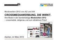 Präsentation Modewelten 2012