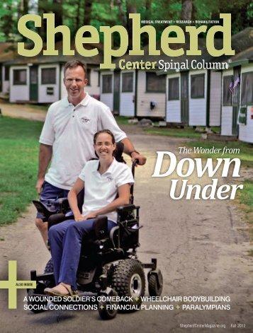 Fall 2012 - Shepherd Center