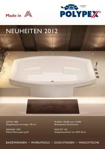 NEUHEITEN 2012 - 8 Seiten (816KB) - Polypex