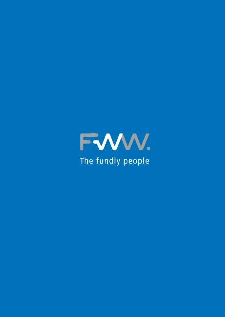FWW Group Imagebroschüre Download